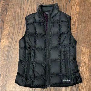 Eddie Bauer vest puffer jacket coat down M0